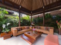 Villa Lakshmi Kawi, Outdoor Living Room