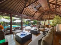 Villa Ramadewa, Living and Dining Room