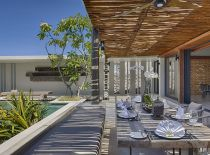 Villa Hamsa, Outdoor Dining Pavillon
